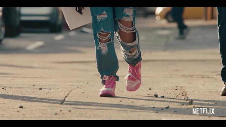 Nike Off-White Zoom Fly Pink Sneakers of Jearnest Corchado as Nori in Sneakerheads Season 1