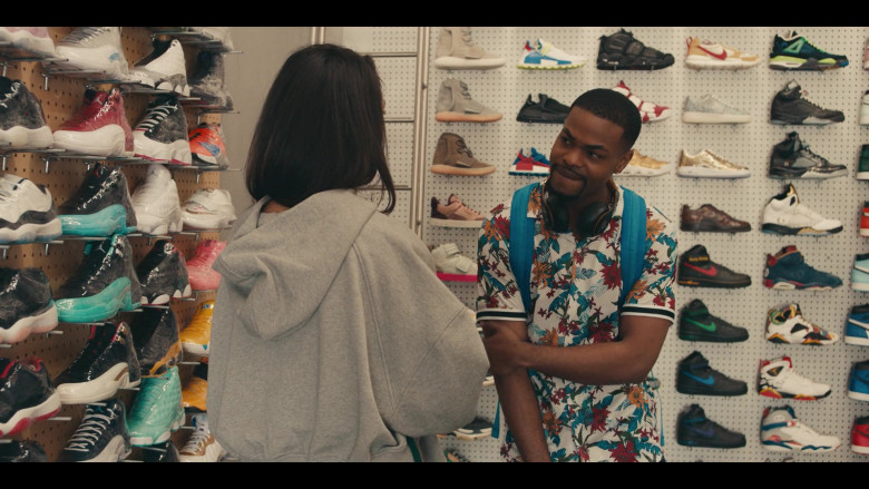 Nike and Air Jordan Shoes in the Store in Sneakerheads S01E02 (1)