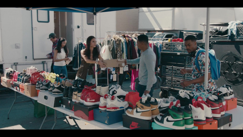Nike and Air Jordan Shoes in the Store in Sneakerheads S01E02 (3)