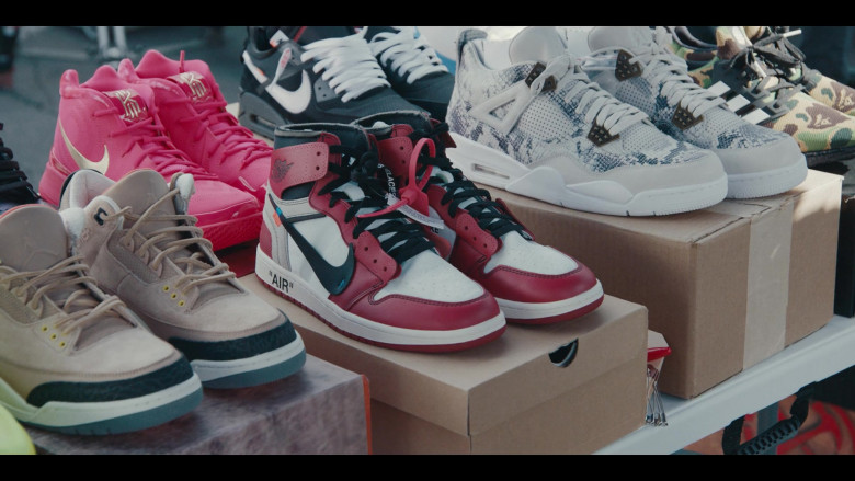 Nike and Air Jordan Shoes in the Store in Sneakerheads S01E02 (7)