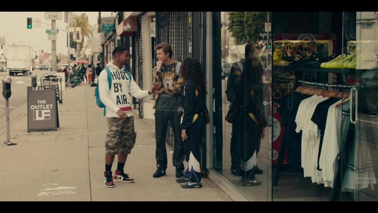 Nike x Off-White Zoom Fly Black Sneakers Worn by Jearnest Corchado as Nori in Sneakerheads S01E04 (1)