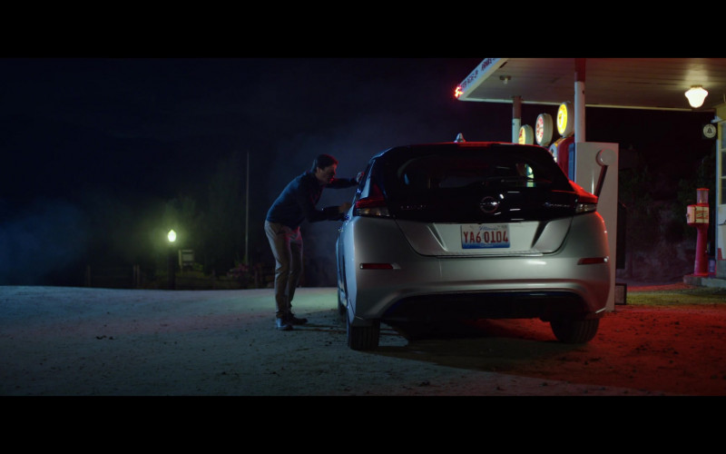 Nissan Leaf Car in The Babysitter Killer Queen (2020)