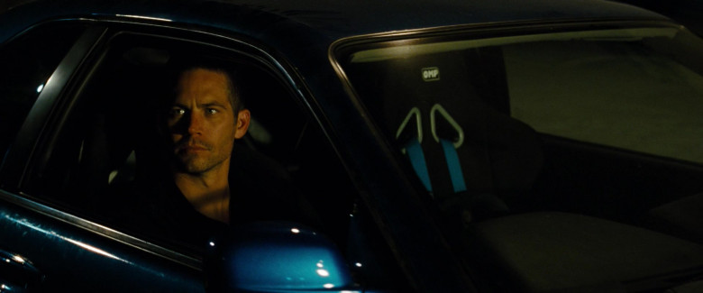 OMP Racing Seats in the Car of Paul Walker as Brian O'Conner in Fast & Furious (2)