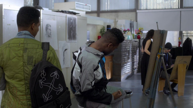 Off-White Black Backpack in Power Book 2 TV Show (1)