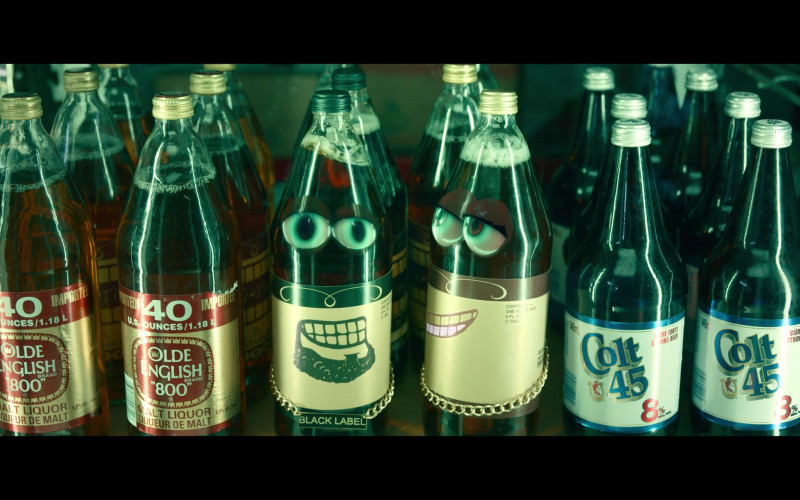 Olde English 800 and Colt 45 Malt Liquors in Woke S01E01 (1)