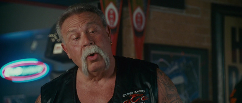 Orange County Choppers Leather Vest of Paul Teutul Sr. in Wild Hogs