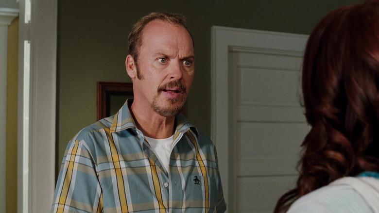 Original Penguin Short Sleeved Shirt of Michael Keaton as Ray Peyton in Herbie Fully Loaded (1)