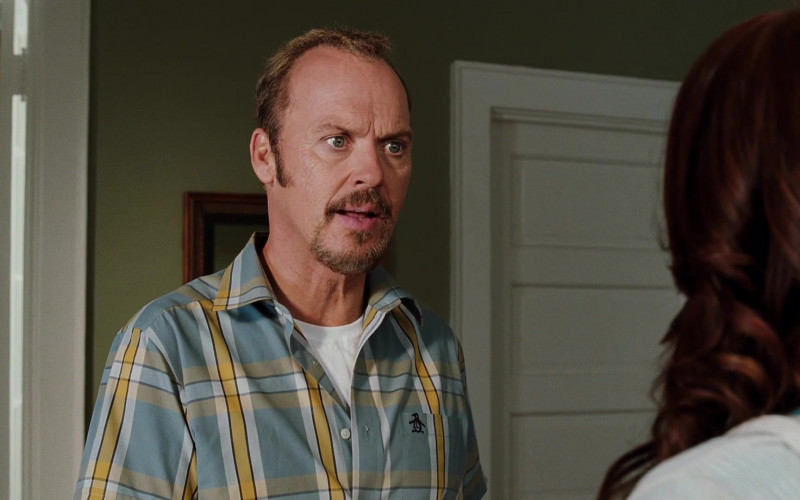 Original Penguin Short Sleeved Shirt of Michael Keaton as Ray Peyton in Herbie Fully Loaded (1)