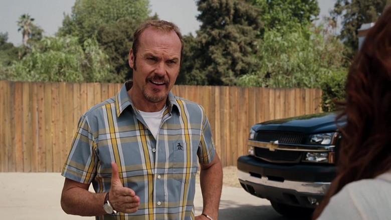 Original Penguin Short Sleeved Shirt of Michael Keaton as Ray Peyton in Herbie Fully Loaded (3)