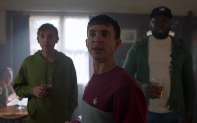 Original Penguin Sweatshirt of Adam Colborne as Baz in Ted Lasso S01E06
