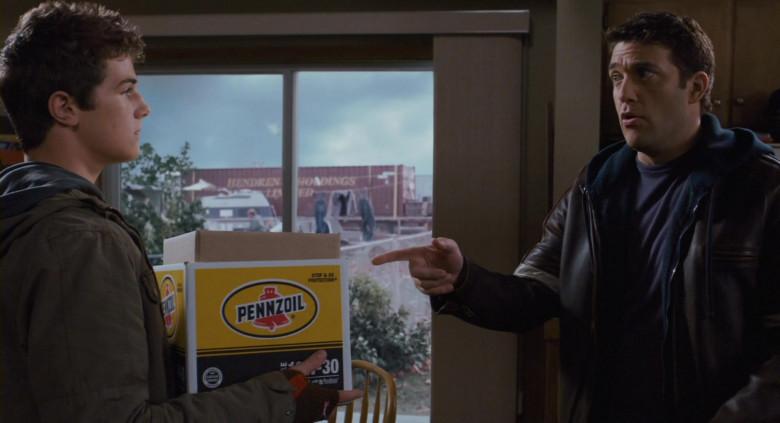 Pennzoil Motor Oil Box in Scary Movie 4 (2)