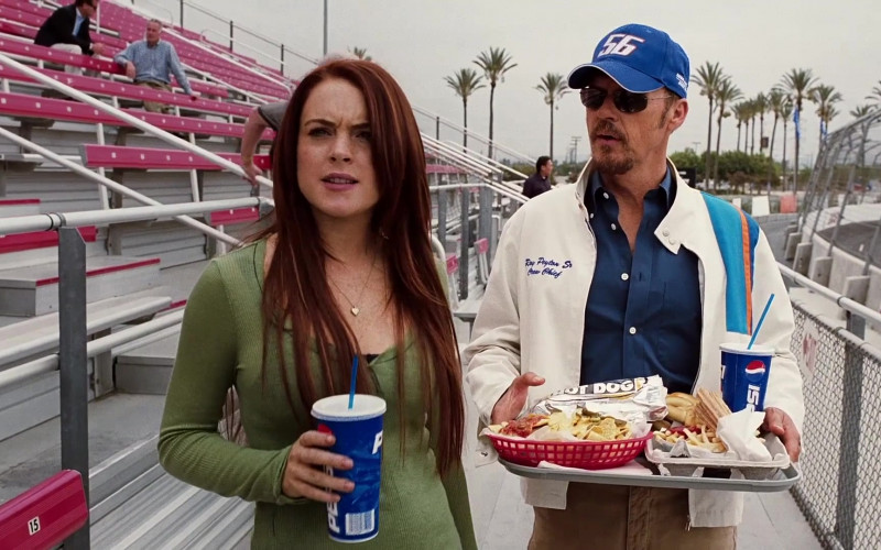 Pepsi Drink Enjoyed by Lindsay Lohan and Michael Keaton in Herbie Fully Loaded