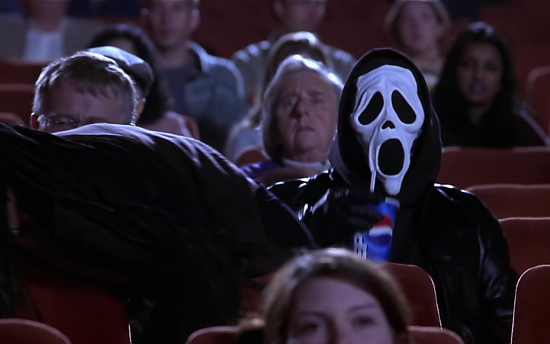 Pepsi Soda Enjoyed by Dave Sheridan as The Killer in Scary Movie (2000)