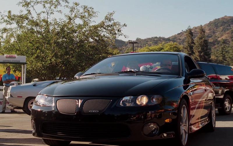 Pontiac GTO Black Car in Herbie Fully Loaded