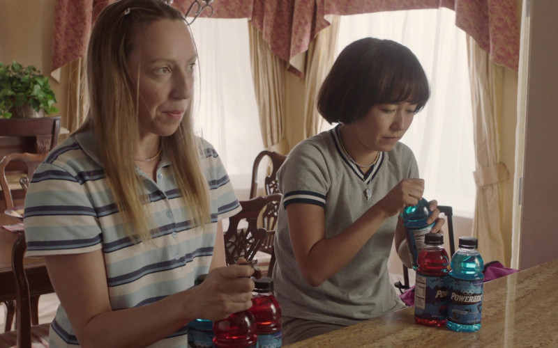 Powerade Sports Drinks of Maya Erskine & Anna Konkle in PEN15 S02E04 HULU TV Show (1)