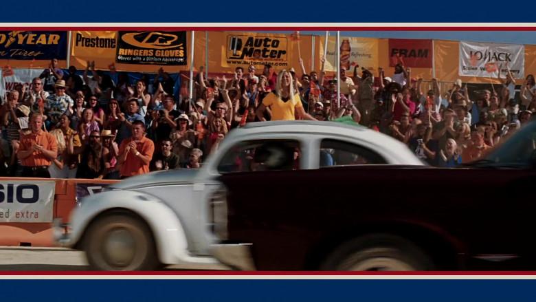 Prestone, Ringers Gloves, Auto Meter, Lipton, Fram in Herbie Fully Loaded (2005)