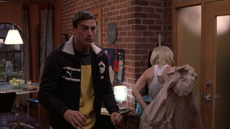 Puma Jacket Outfit of Simon Rex as George Logan in Scary Movie 3 (3)