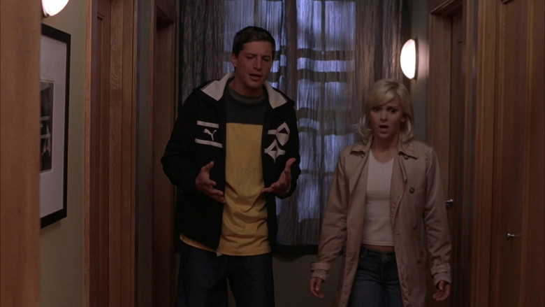 Puma Jacket Outfit of Simon Rex as George Logan in Scary Movie 3 (4)