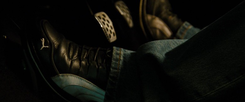 Puma Leather Black Sneakers of Paul Walker as Brian O'Conner in Fast & Furious (1)