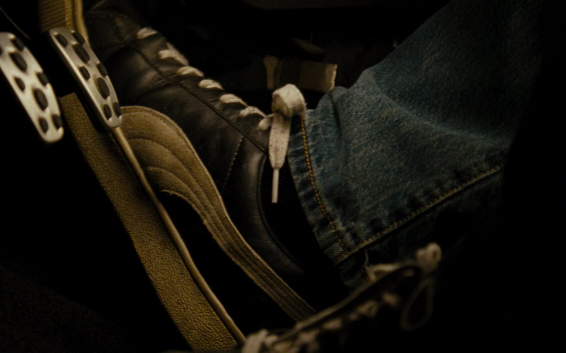 Puma Leather Black Sneakers of Paul Walker as Brian O'Conner in Fast & Furious (2)