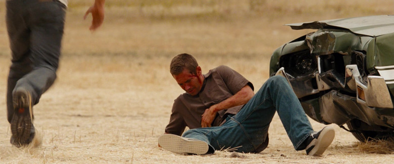 Puma Leather Black Sneakers of Paul Walker as Brian O'Conner in Fast & Furious (3)