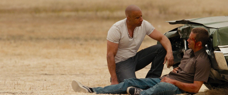 Puma Leather Black Sneakers of Paul Walker as Brian O'Conner in Fast & Furious (5)