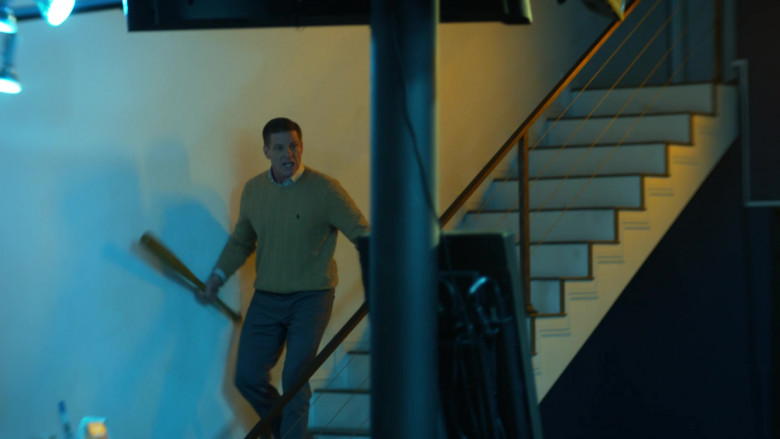 Ralph Lauren Knit Sweater of Doug Savant as Richard Reeves in L.A.'s Finest S02E09 (1)