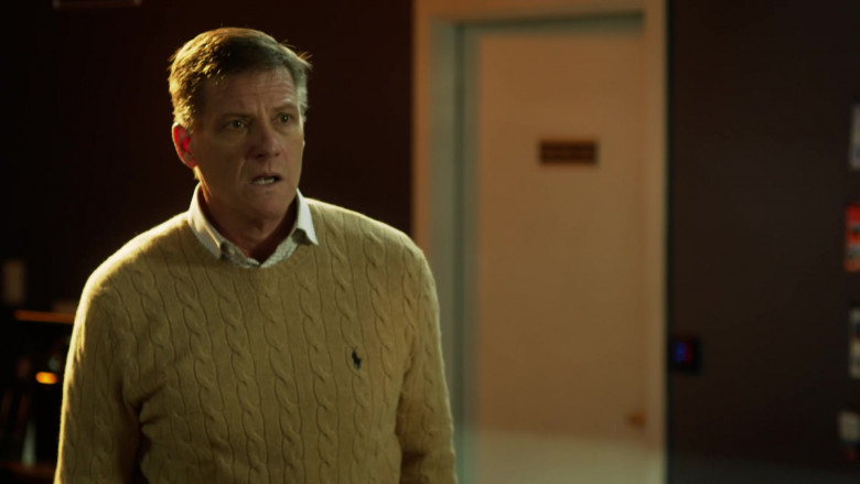 Ralph Lauren Knit Sweater of Doug Savant as Richard Reeves in L.A.'s Finest S02E09 (2)