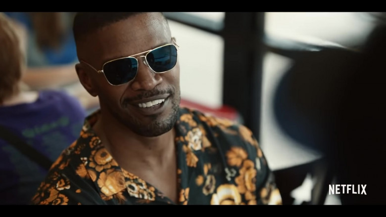 Randolph Aviator Sunglasses Worn by Jamie Foxx in Project Power (2020)