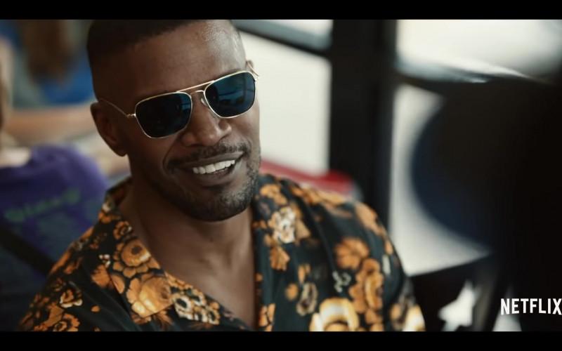 Randolph Aviator Sunglasses Worn by Jamie Foxx in Project Power (2020)