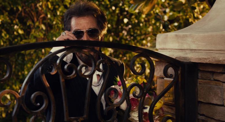 Ray-Ban Aviator Sunglasses of Al Pacino in Jack and Jill Movie