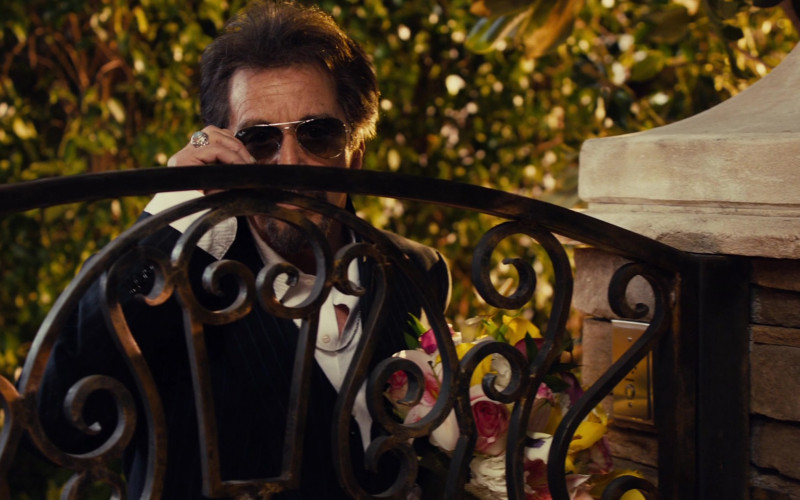 Ray-Ban Aviator Sunglasses of Al Pacino in Jack and Jill Movie