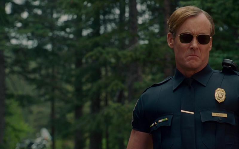 Ray-Ban Sunglasses of John C. McGinley as Highway Patrolman in Wild Hogs (1)