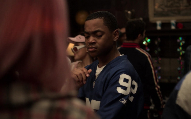 Reebok Jersey Sports Style of Michael Rainey Jr. as Tariq St. Patrick in Power Book 2 Ghost S01E04 (1)