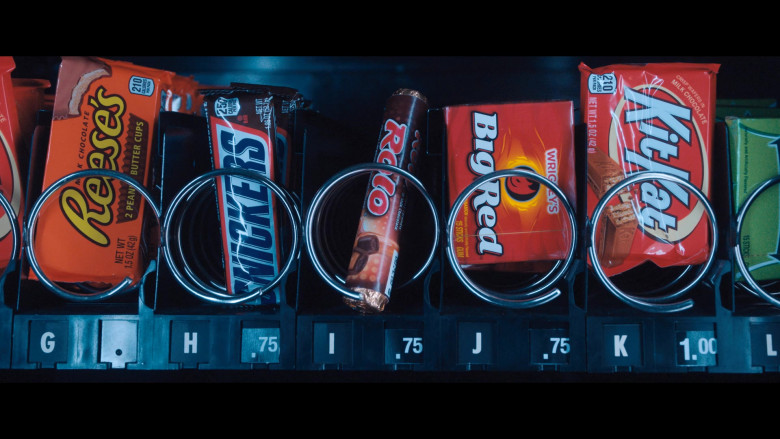 Reese's, Rolo, Wrigley's Big Red and Kit Kat