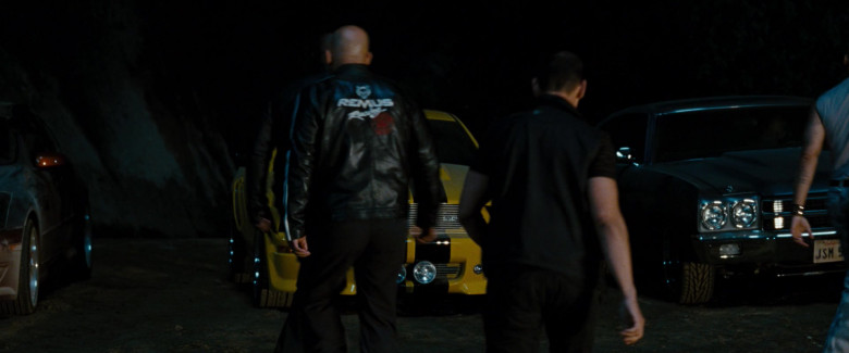 Remus Racing Men's Leather Jacket in Fast & Furious