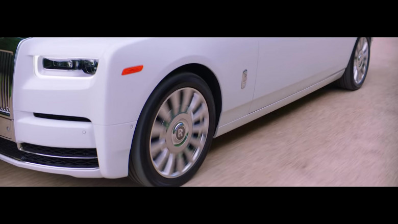 "Rolls-Royce Phantom White Luxury Vehicle in ""Pa' Ti + Lonely"" Music Video 2020 by Jennifer Lopez & Maluma (1)"