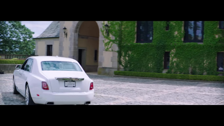 "Rolls-Royce Phantom White Luxury Vehicle in ""Pa' Ti + Lonely"" Music Video 2020 by Jennifer Lopez & Maluma (4)"