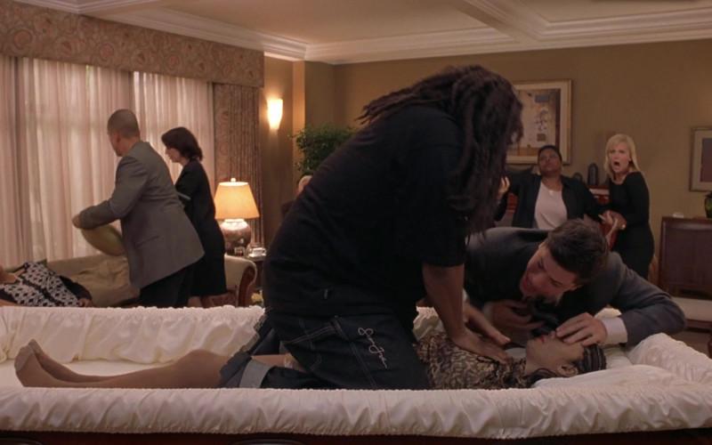 Sean John Jeans of Anthony Anderson as Mekhi Phifer in Scary Movie 3 (1)