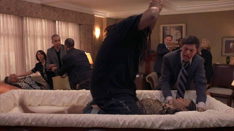 Sean John Jeans of Anthony Anderson as Mekhi Phifer in Scary Movie 3 (2)