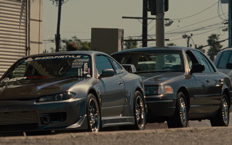 Shogun Style Performance Sticker on the Car in Fast & Furious