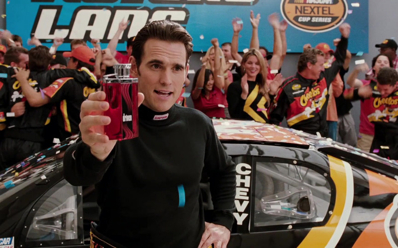 Simpson Racing Black Long Sleeve Turtleneck of Matt Dillon as Trip Murphy in Herbie Fully Loaded (1)