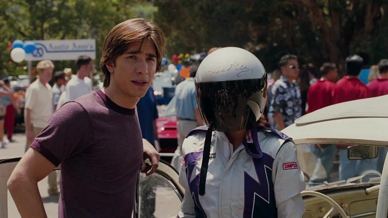 Simpson Racing Suit Outfit of Lindsay Lohan as Margaret 'Maggie' Peyton in Herbie Fully Loaded Movie (1)