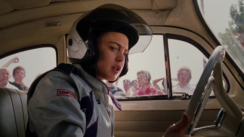 Simpson Racing Suit Outfit of Lindsay Lohan as Margaret 'Maggie' Peyton in Herbie Fully Loaded Movie (2)