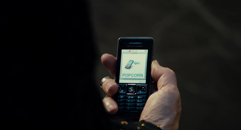 Sony Ericsson Mobile Phone of Al Pacino in Jack and Jill (2011)