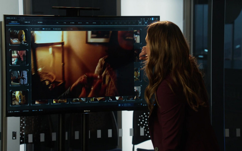 Sony TVs in L.A.'s Finest S02E02 (1)