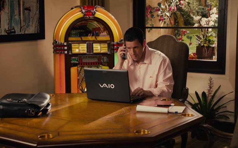 Sony Vaio Laptop of Adam Sandler as Jack in Jack and Jill Movie (1)