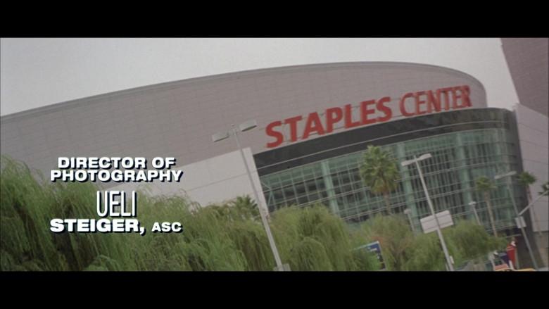 Staples Center in Black Knight
