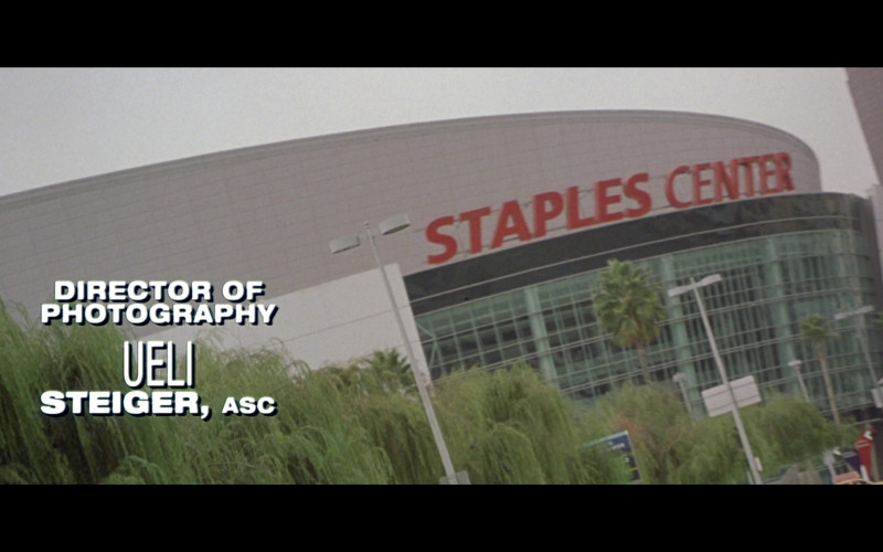 Staples Center in Black Knight