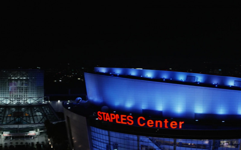 Staples Center in L.A.'s Finest S02E01